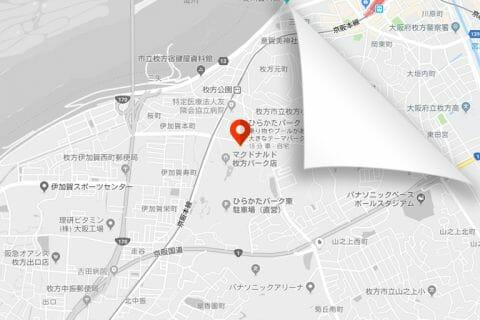 Webサイト上のGoogleマップをグレースケール(モノクロ)にカスタマイズする方法